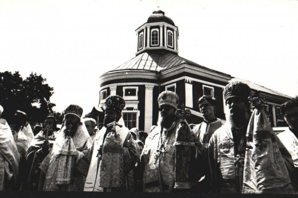 Торжества в честь иконы Божией Матери «Одигитрия». Год 1000-летия Крещения Руси