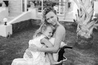 Ксения Безуглова с дочерью Таей.