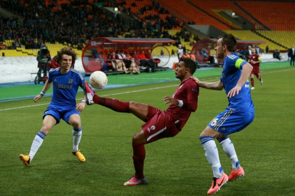 Рондон пытался остановить «Челси» на пути к трофею в Лиге Европы