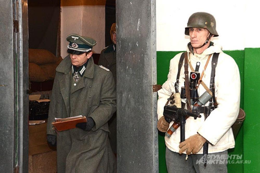 В отличие от простых солдат высшее командование шестой армии не бедствовало в Сталинграде