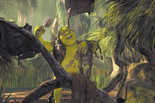 Шрек. Зеленый огр не готов променять свое болото даже на королевский дворец – как известно, даже жену-принцессу он привез в свое жилище. А принимать грязевые ванны и кататься в грязи – одни из любимых занятий болотных жителей.