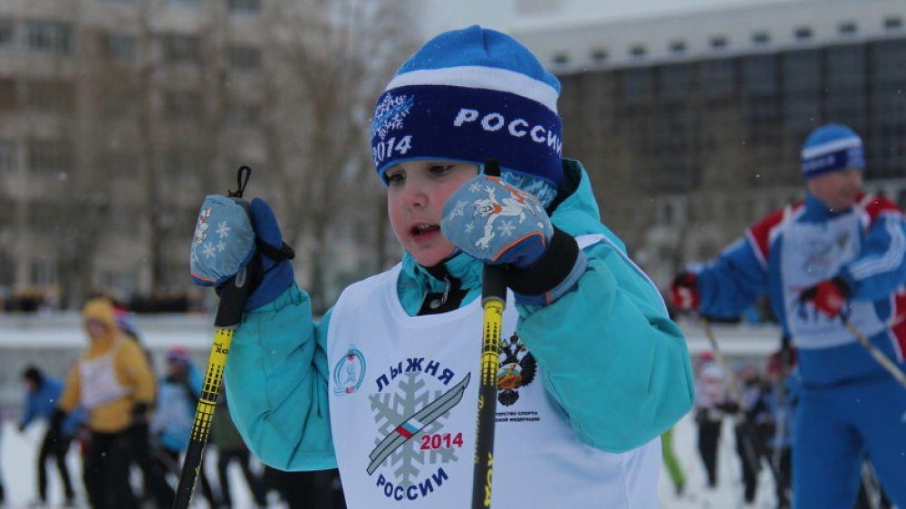 Возраст участников гонки начинался с 4 лет.