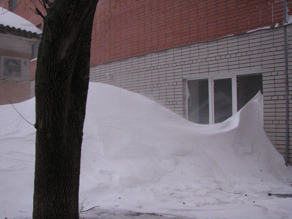 Ростовчане оказались в снежном плену