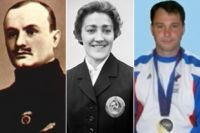 Николай Панин-Коломенкин, Любовь Козырева, Александр Голубев.
