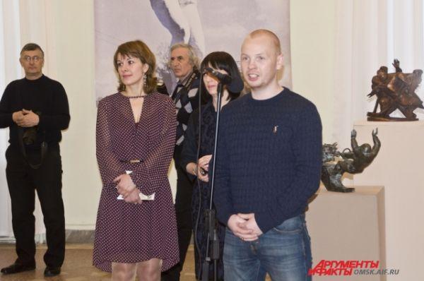 Алексей Тищенко посетил открытие выставки.