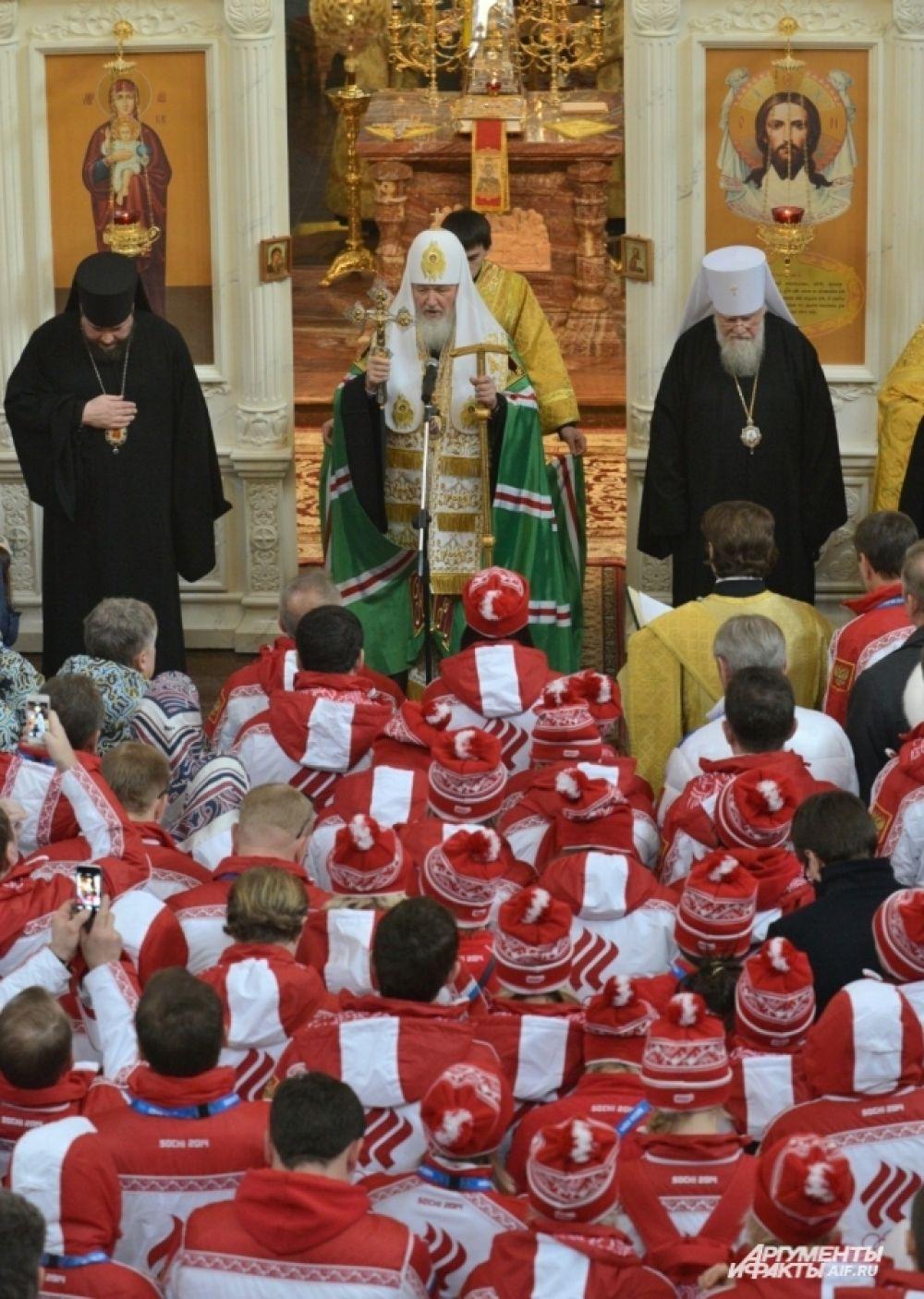 Патриарх пожелал, чтобы пьедесталы почета наполнились «представителями наших братских народов».