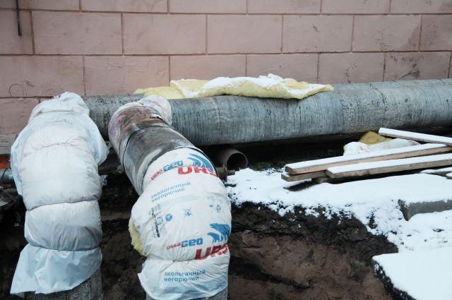 В частных домах в Сухом Логу замерзли трубы