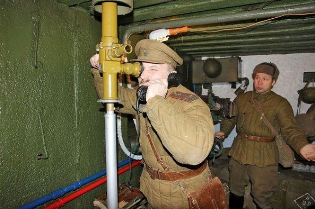 Посетители обновленного ДОТа на улице Димитрова словно погружаются в 1943 год.