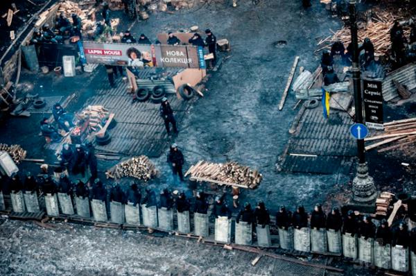 Трудовые будни правоохранителей на улице Грушевского