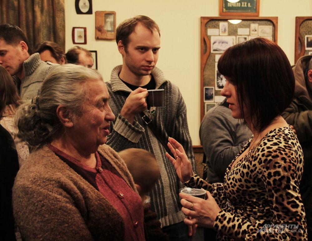 У директора музея Екатерины Солдатенковой нашлась минутка для каждого гостя.