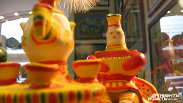 Родина игрушек – село Филимоново Одоевского района Тульской области
