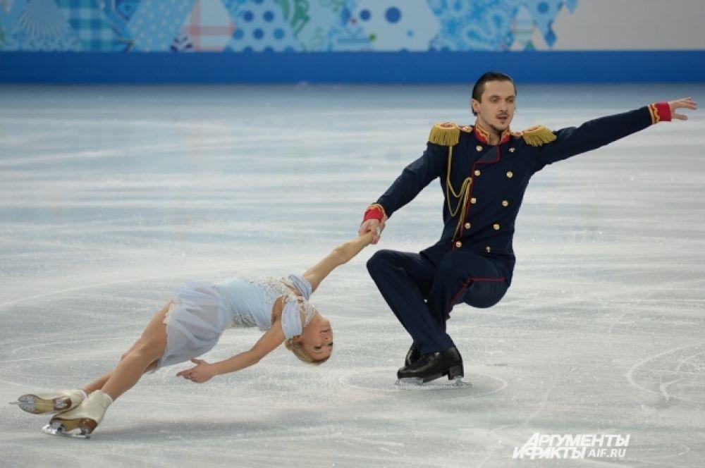 Россияне Татьяна Волосожар и Максим Траньков в первый день соревнований не оставили соперникам шансов