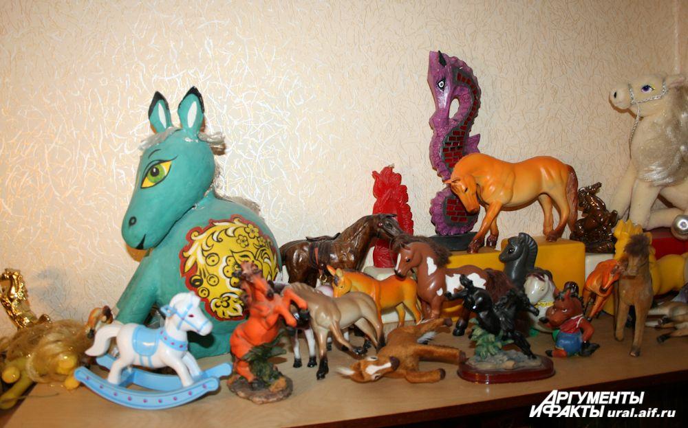 Чем морской конек не конь? Он занимает свое место в коллекции вполне заслуженно.