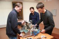 Одним из популярных у студентов вузов края направлений исследований является робототехника.