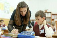 В конкурсе участвуют молодые и опытные учителя.
