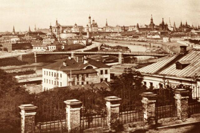 Москва 19 века.