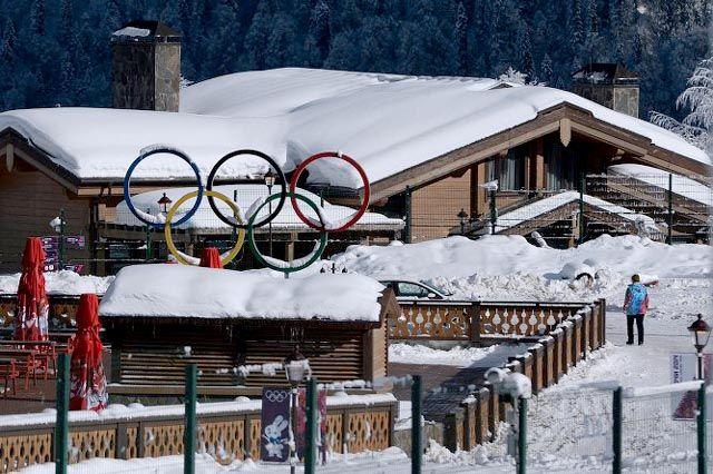 Дополнительная горная Олимпийская деревня в Красной Поляне