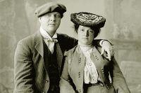 Федор Шаляпин и Иола Торнаги. 1890 – 1900 годы.