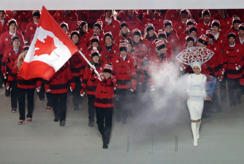 Сборная Канады - наши главные соперники в хоккее.