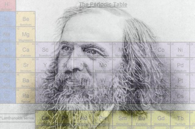 Изобретатель периодической таблицы химических элементов Дмитрий Менделеев - один из символов петербургской науки