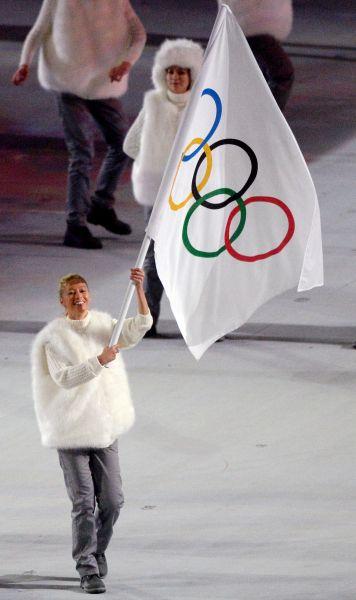 Представители сборной Независимых олимпийских участников.