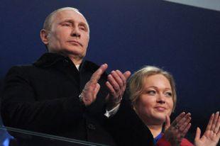 Владимир Путин и Ирина Скворцова в торжественной ложе.