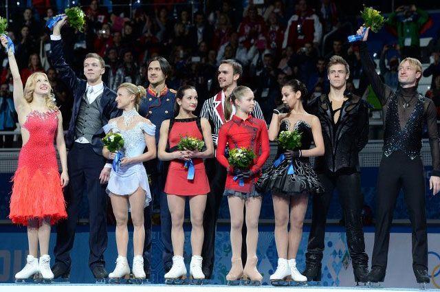 Дня соревнований на олимпиаде в сочи