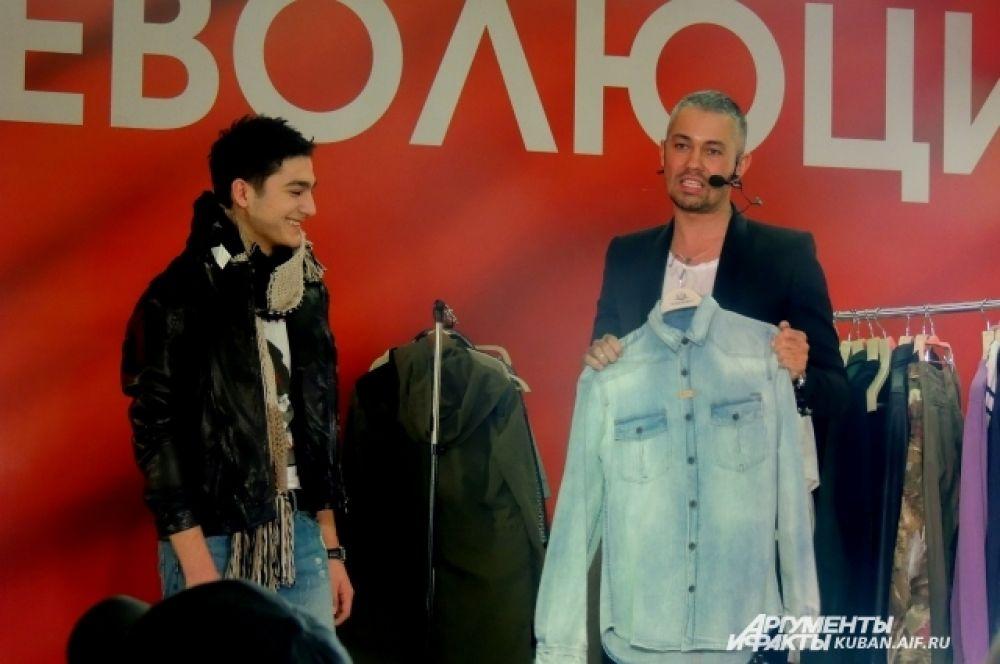 Рогов рассказывает о тенденциях мужской моды