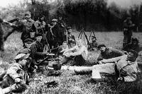 Первой подддержала мятеж рота дезертиров.