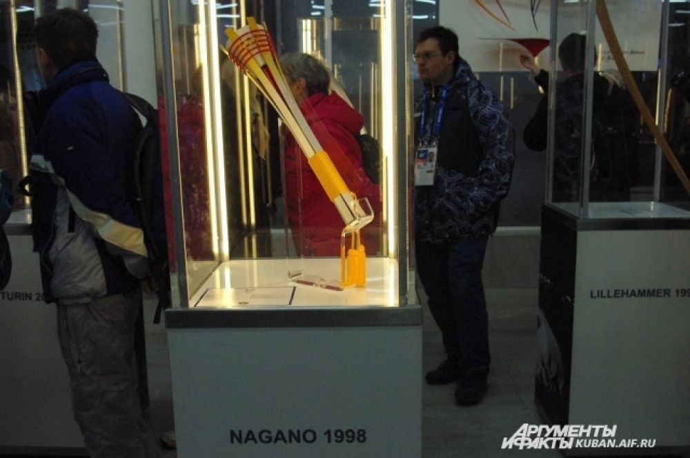 Факел Игр в Нагано