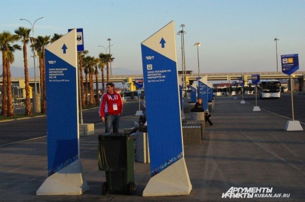 Дорожные указатели по-олимпийски
