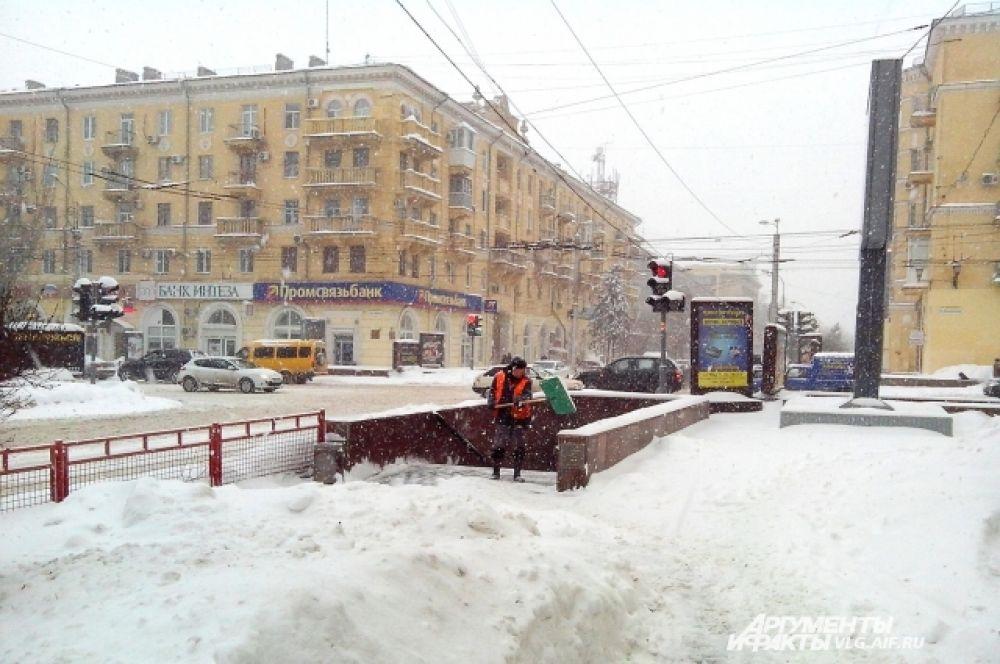 Перекресток на улице Мира