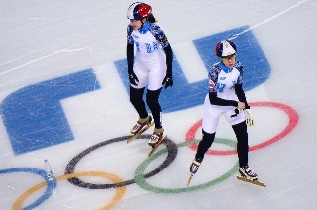 Екатерина Баранок и Татьяна Бородулина на тренировке.