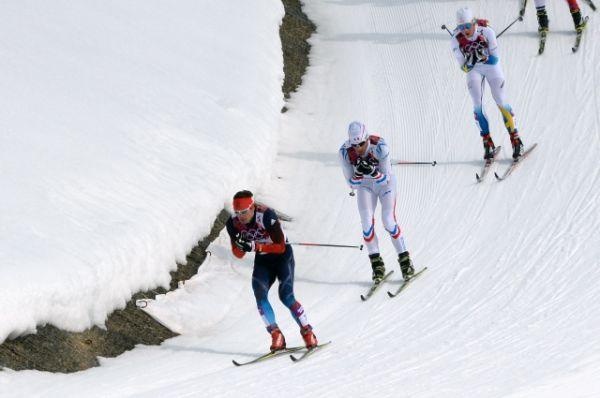 Первым пересек финишный створ олимпийский чемпион из Швейцарии Дарио Колонья, став 2-кратным чемпионом.