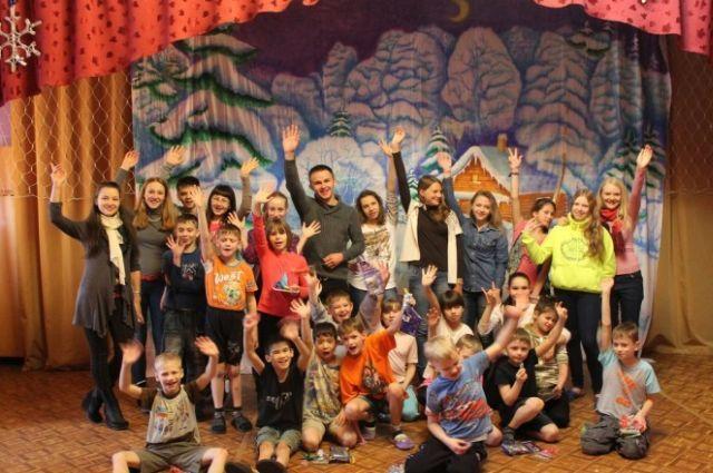«Капелька любви» в детском доме Владивостока