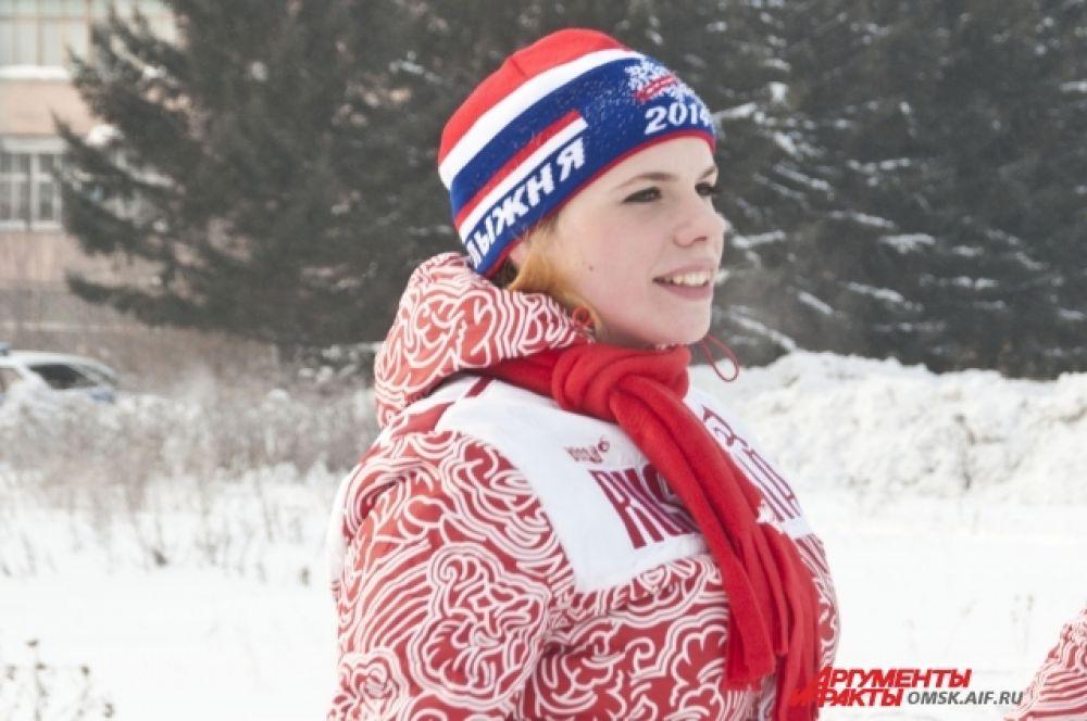 В Омске прошла «Лыжня России-2014»
