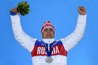 Альберт Демченко, завоевавший серебряную медаль на индивидуальных соревнованиях по санному спорту на XXII зимних Олимпийских играх в Сочи.