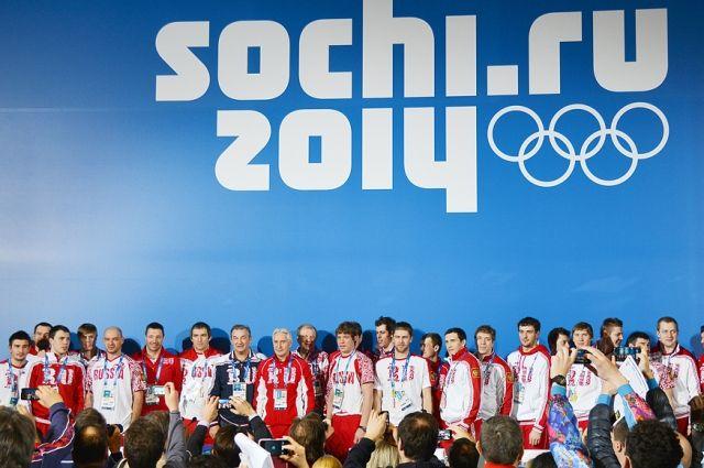 Пресс-конференция сборной России по хоккею.