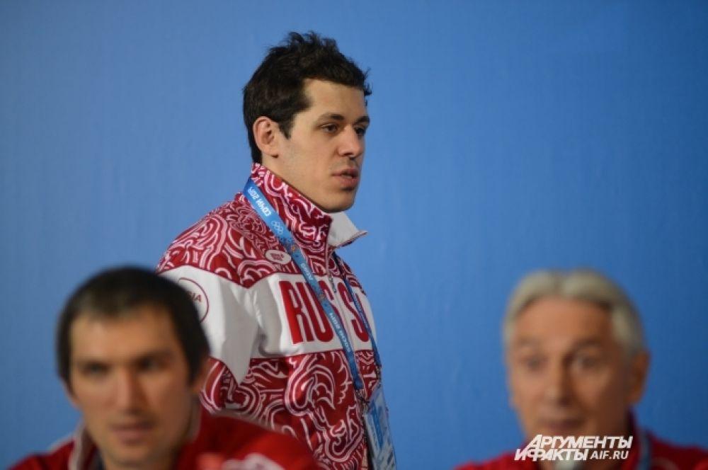 Ещё один звёздный игрок нашей команды - форвард Евгений Малкин из «Питтсбург Пингвинз».