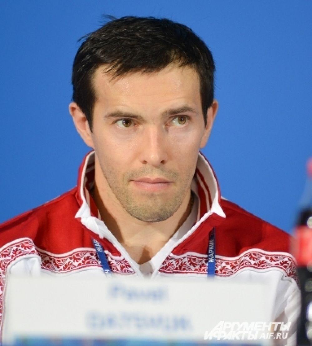 Бронзовый призёр Олимпиады 2002 года в Солт-Лейк-Сити Павел Дацюк.
