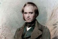 Портрет Чарльза Дарвина.