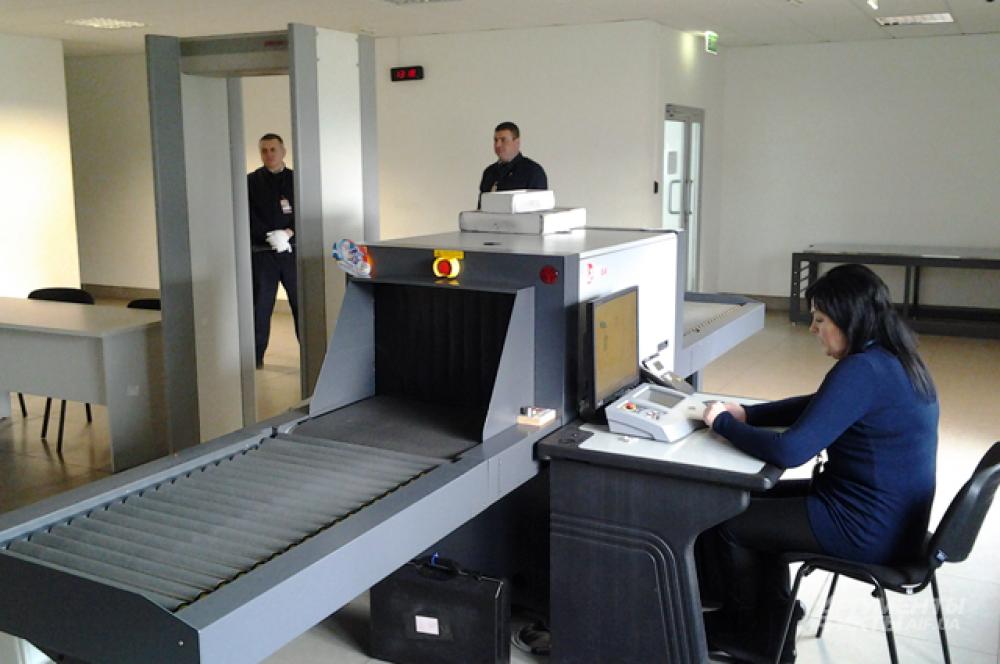 Пункт пропуска для персонала в «Борисполе»