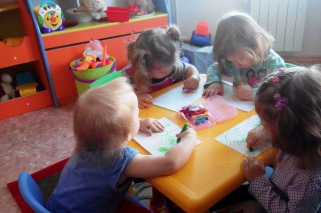 Группа в хабаровском частном детском саду