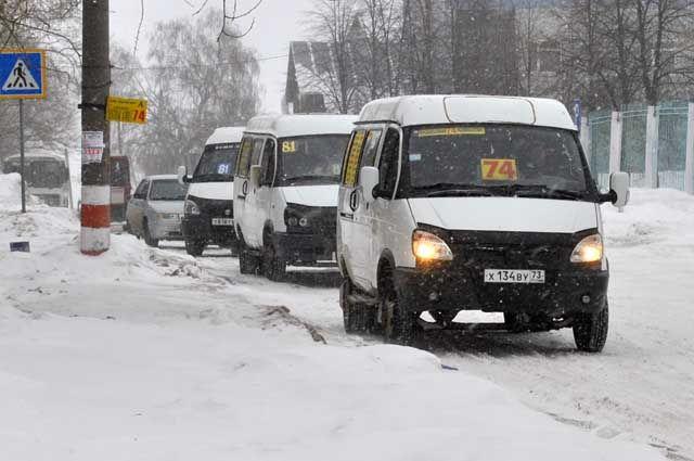 ульяновской маршрутке из