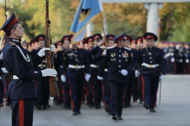 Уральских кадетов оденут за счет областного бюджета