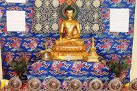 Один из экспонатов выставки «Сокровища буддизма»