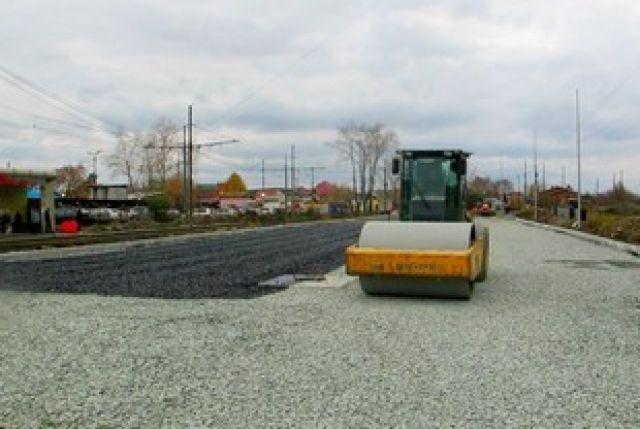 Строительство дороги в Приморье.