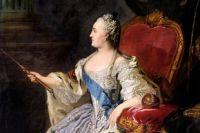 Портрет Екатерины II. Ф. С. Рокотов, 1763 год.