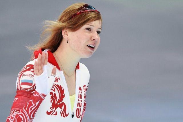 Конькобежка Ольга Фаткулина оказалась четвертой на дистанции 1000 метров