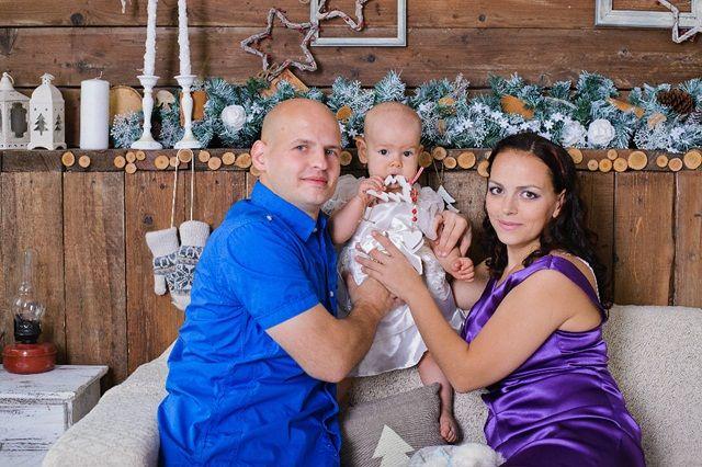 Лана и Гриша с сыном
